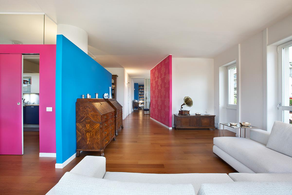 Appartamento in citt adele sironi architetto bergamo for Appartamenti interni